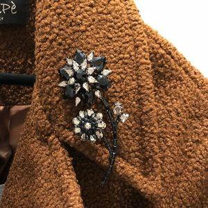 Kate spade floral brooch